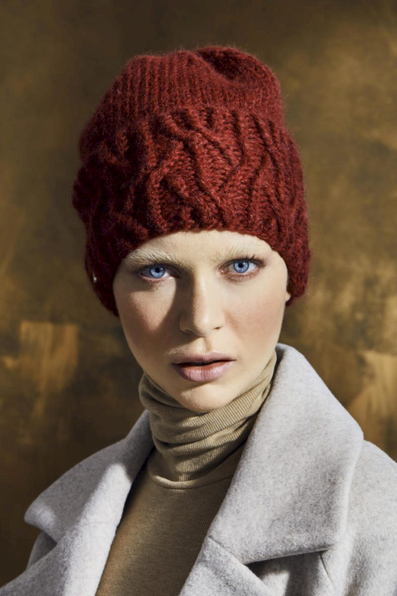 Rote Mütze Damen