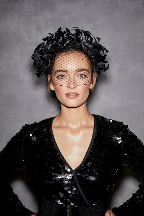 Couture headpiece