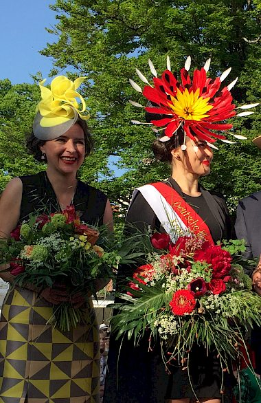 Crowning of the german hat queen